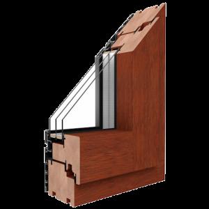Profiokna | Okna drewniano-aluminiowe